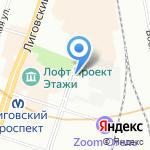 Эдванс Холдинг на карте Санкт-Петербурга