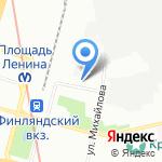 Трансэкостимул на карте Санкт-Петербурга