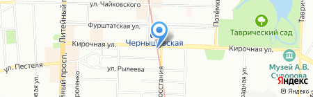 Easytravels на карте Санкт-Петербурга