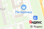 Схема проезда до компании ЭкоМед в Санкт-Петербурге