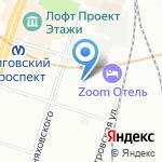 Полифен на карте Санкт-Петербурга
