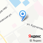 Окна Века на карте Санкт-Петербурга