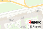 Схема проезда до компании Ажур в Санкт-Петербурге