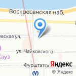 Женский магазинчик на карте Санкт-Петербурга