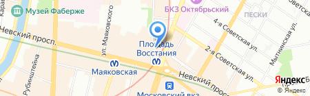 Смирнов и К на карте Санкт-Петербурга