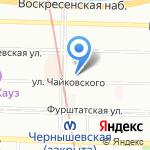 Mario Bruni на карте Санкт-Петербурга