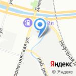 Управление Высотных Работ №1 на карте Санкт-Петербурга