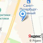 Ленинградский областной психоневрологический диспансер на карте Санкт-Петербурга