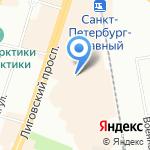 Фактор роста на карте Санкт-Петербурга