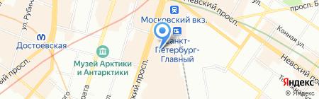 New Balance на карте Санкт-Петербурга