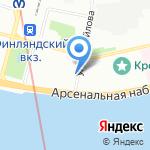 Санкт-Петербургский музей хлеба на карте Санкт-Петербурга