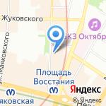 Друзья на карте Санкт-Петербурга
