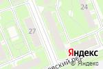 Схема проезда до компании Библиотека №3 в Санкт-Петербурге