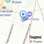 ВендерХаус на карте Санкт-Петербурга