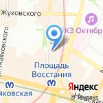 Ювелирная мастерская на карте Санкт-Петербурга