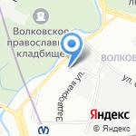 Пожарная часть №26 на карте Санкт-Петербурга