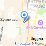 Алтайклимат на карте Санкт-Петербурга