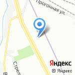 Аэрогеодезия на карте Санкт-Петербурга
