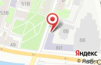 Схема проезда до компании Ворклайн в Санкт-Петербурге