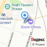 Сезам-принт на карте Санкт-Петербурга