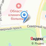 Алго на карте Санкт-Петербурга