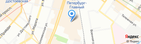 ТРАКтрейдер на карте Санкт-Петербурга