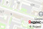 Схема проезда до компании Газовый Клуб в Санкт-Петербурге