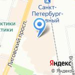 Spikes на карте Санкт-Петербурга