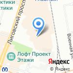 Геотраверс на карте Санкт-Петербурга