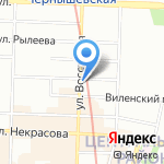 Парадиз Декор на карте Санкт-Петербурга