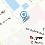 Сторм на карте Санкт-Петербурга