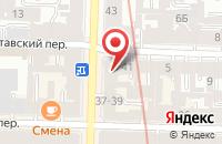 Схема проезда до компании Принт-Эра в Санкт-Петербурге