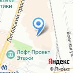 BRO-bar на карте Санкт-Петербурга