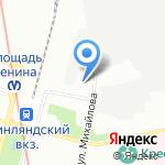Татьяна на карте Санкт-Петербурга
