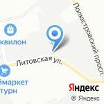 Амолит на карте Санкт-Петербурга