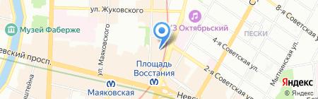 Мои путешествия на карте Санкт-Петербурга