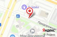 Схема проезда до компании Мастер Вуд в Павловском