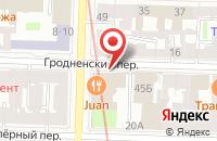 Схема проезда до компании Ларисикс в Санкт-Петербурге