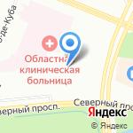 Клинический госпиталь на карте Санкт-Петербурга