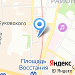 Галерея Путешествий на карте Санкт-Петербурга