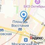 Ta2workshop на карте Санкт-Петербурга