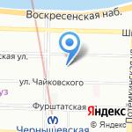 Альфа-Мед на карте Санкт-Петербурга