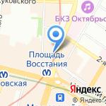 Milavitsa на карте Санкт-Петербурга