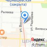 Пари на карте Санкт-Петербурга