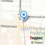Ост на карте Санкт-Петербурга