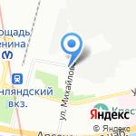 Floryline на карте Санкт-Петербурга