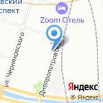 Энергоинжиниринг на карте Санкт-Петербурга