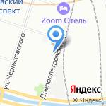 Диолд на карте Санкт-Петербурга