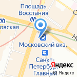 Coffee mall на карте Санкт-Петербурга