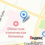 Клиническая больница №122 им. Л.Г. Соколова на карте Санкт-Петербурга
